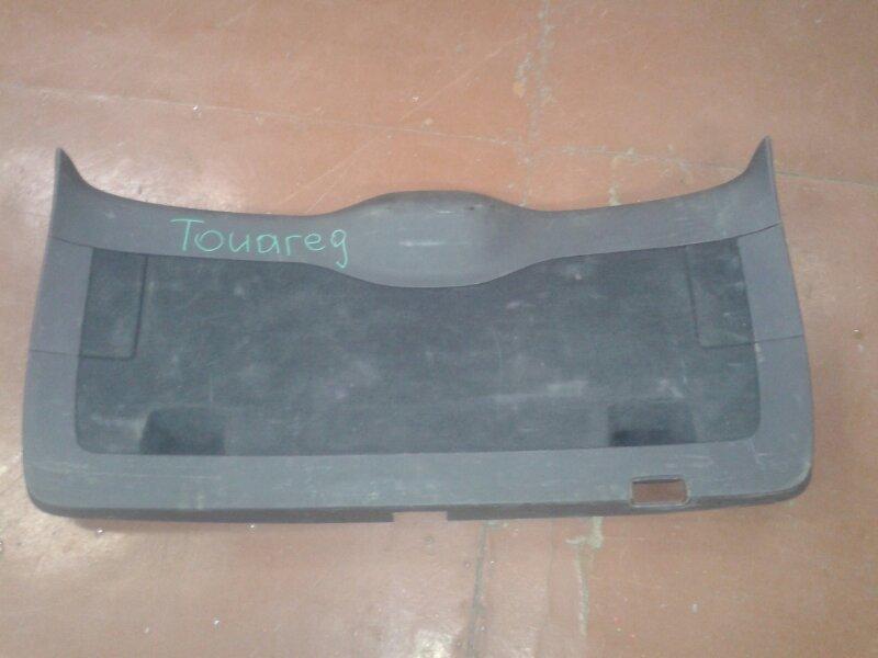 Обшивка двери багажника Volkswagen Touareg 7LA AXQ 2005 задняя
