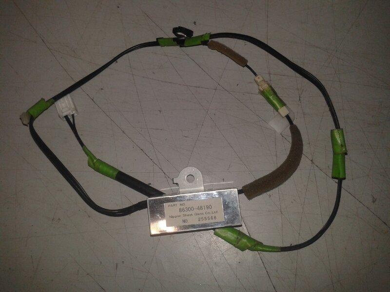 Усилитель антенны Lexus Rx330 MCU38 3MZ-FE 2005 задний