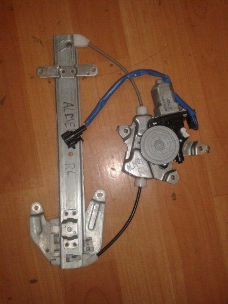 Стеклоподъёмный механизм Nissan Almera G15 K4M, 1, 6 задний левый