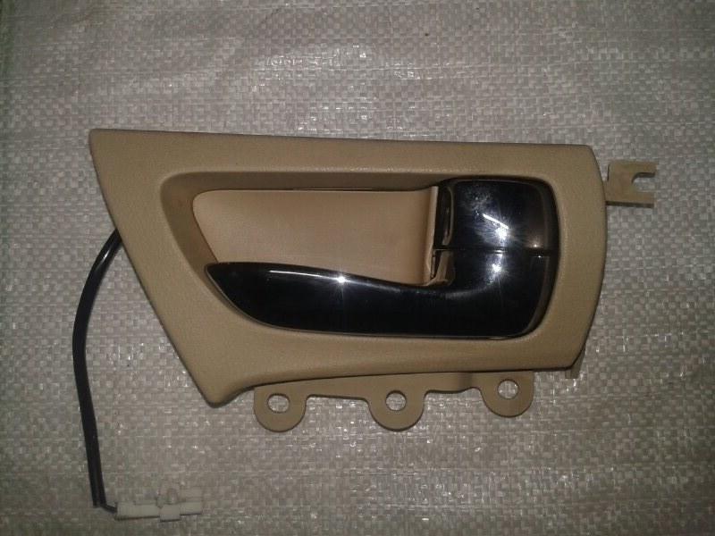 Ручка двери внутренняя Lexus Lx570 URJ201 3UR-FE 2009 задняя правая