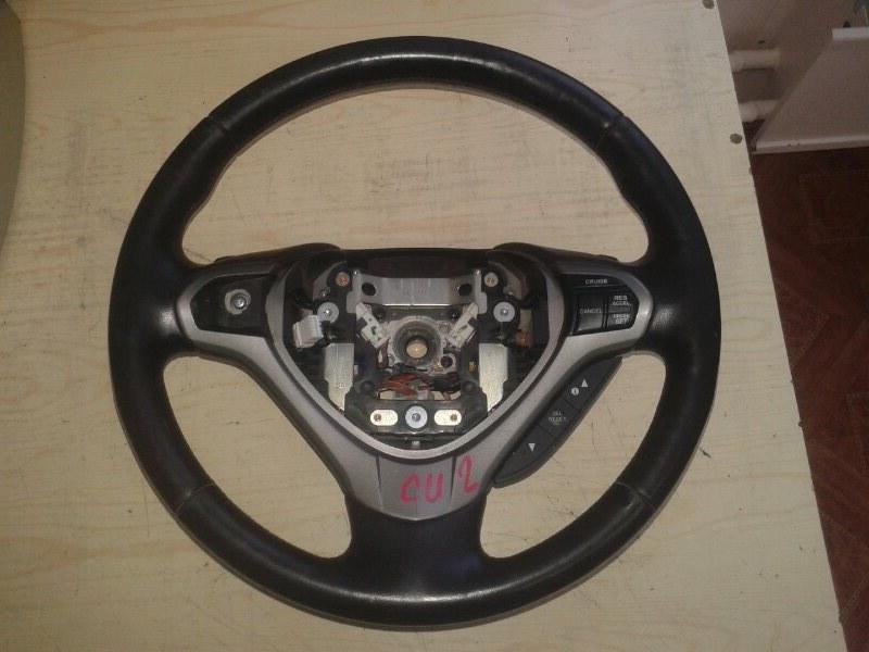Руль Honda Accord CU2 K24Z3 2011 левый