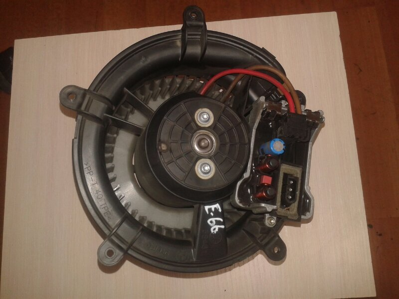 Мотор печки Bmw 7-Series E66 N62B40A 2006