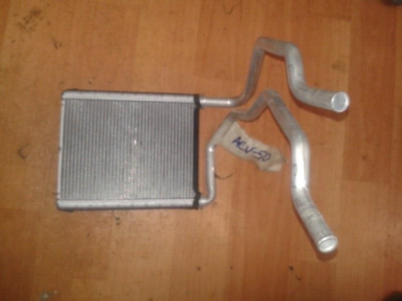 Радиатор отопителя Toyota Camry ASV50 2ARFE 2013