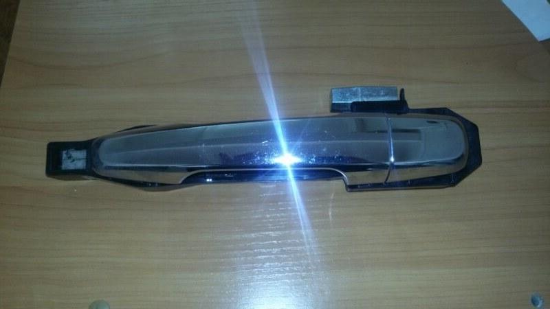 Ручка двери внешняя Mitsubishi Pajero Sport KH4W 4D56 2011 задняя левая