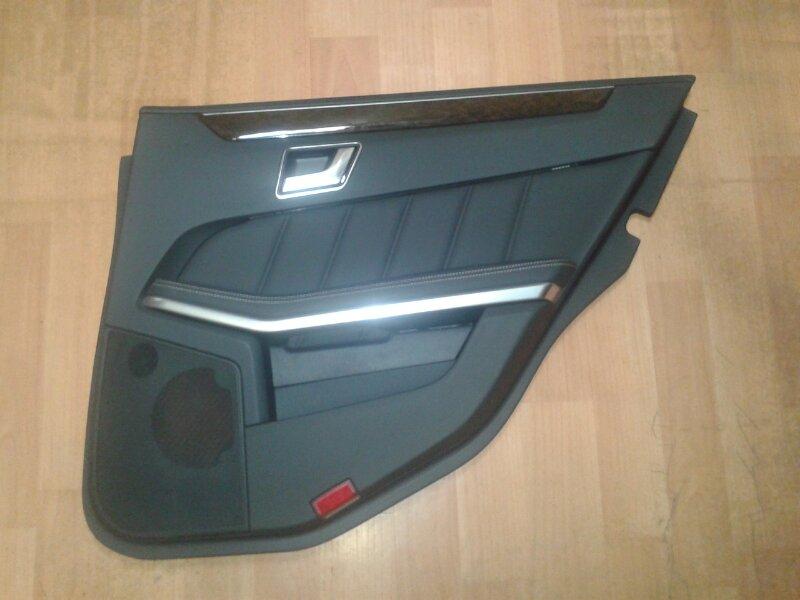 Обшивка двери Mercedes-Benz E-Class W212 M271.860 2012 задняя правая