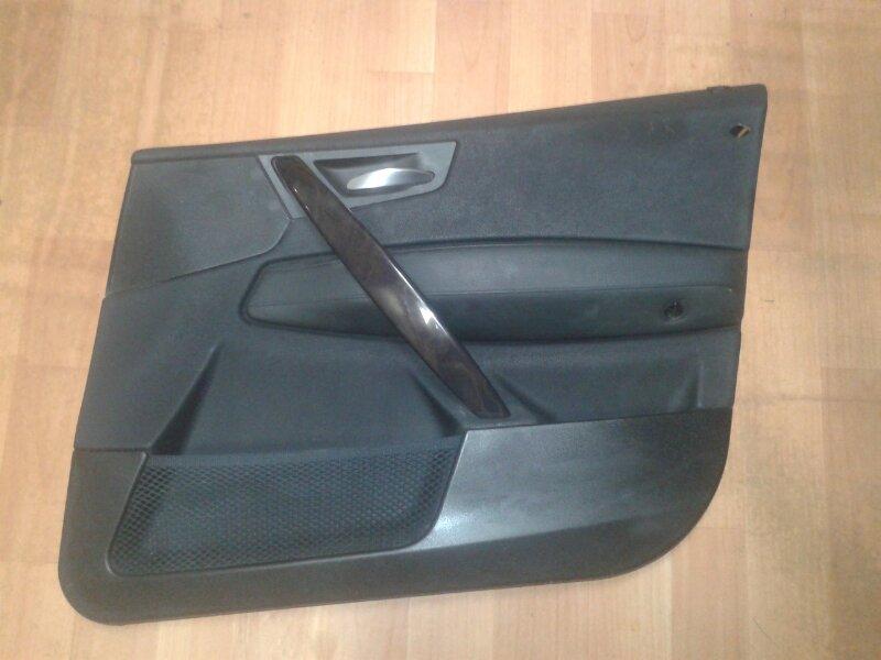 Обшивка двери Bmw X3 E83 N52B30 2007 передняя правая