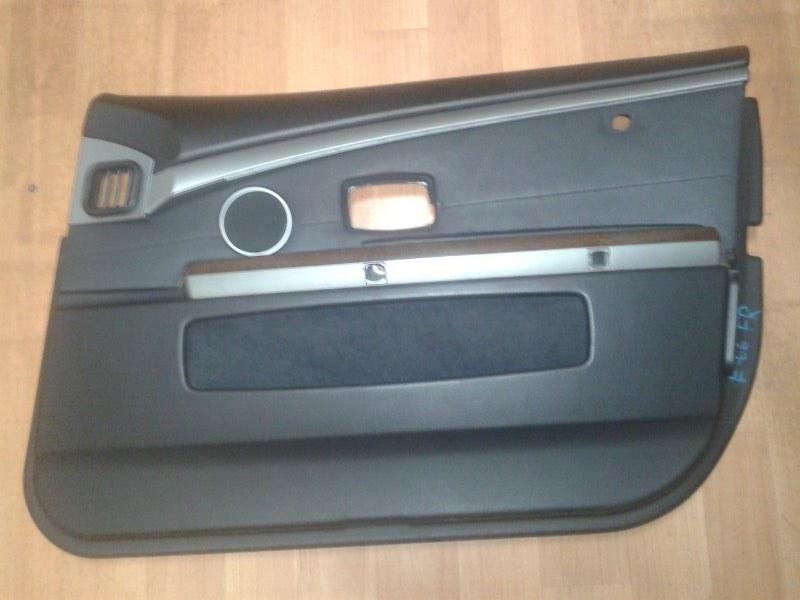 Обшивка двери Bmw 7-Series E66 N62B40A 2006 передняя правая