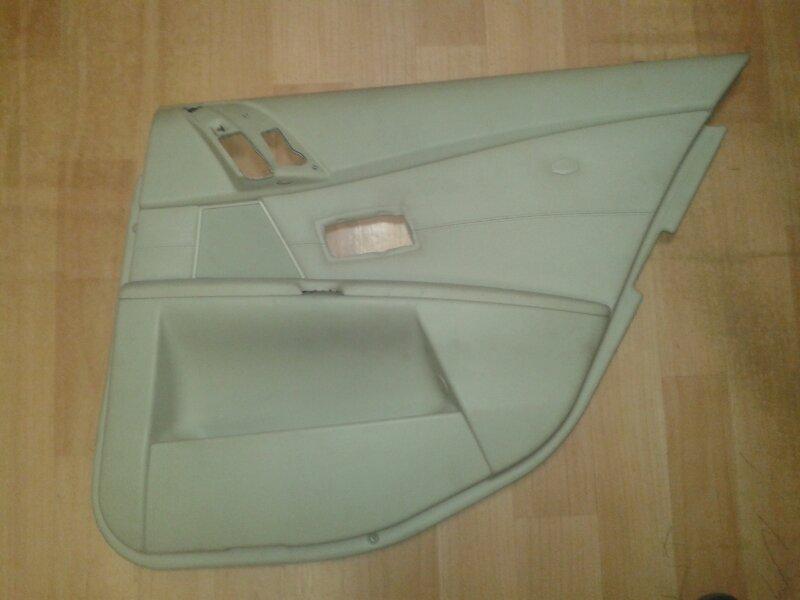 Обшивка двери Bmw 5-Series E60 N52B25A 2006 задняя правая