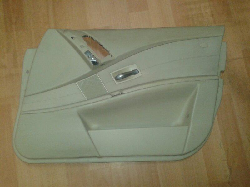 Обшивка двери Bmw 5-Series E60 N52B25A 2006 передняя правая