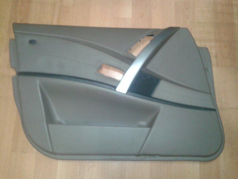 Обшивка двери Bmw 5-Series E60 M54B25 2004 передняя левая