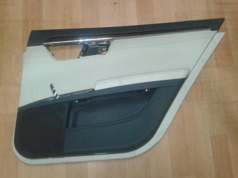 Обшивка двери Mercedes-Benz S-Class W221 M273.961 2008 задняя правая
