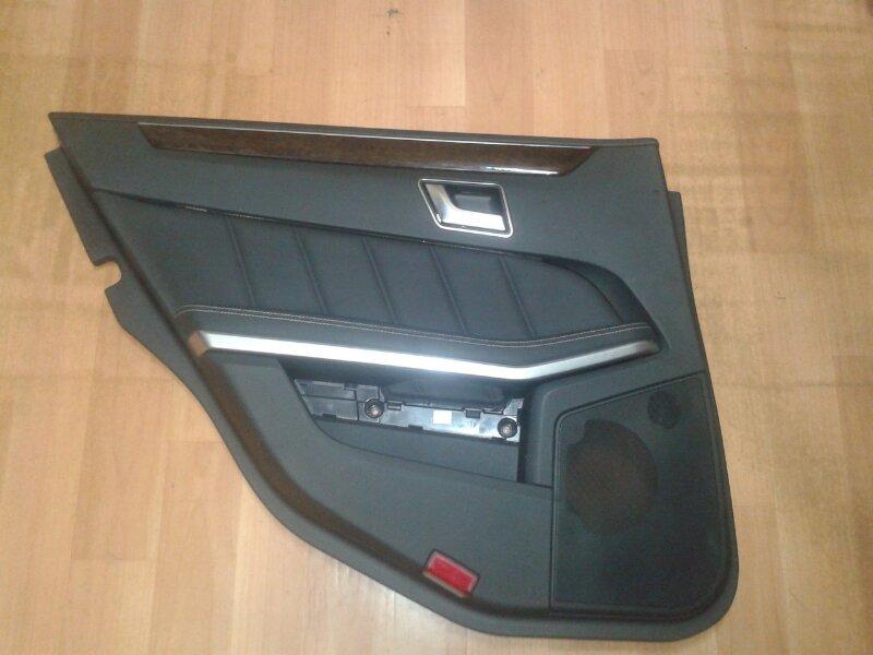 Обшивка двери Mercedes-Benz E-Class W212 M271.860 2012 задняя левая