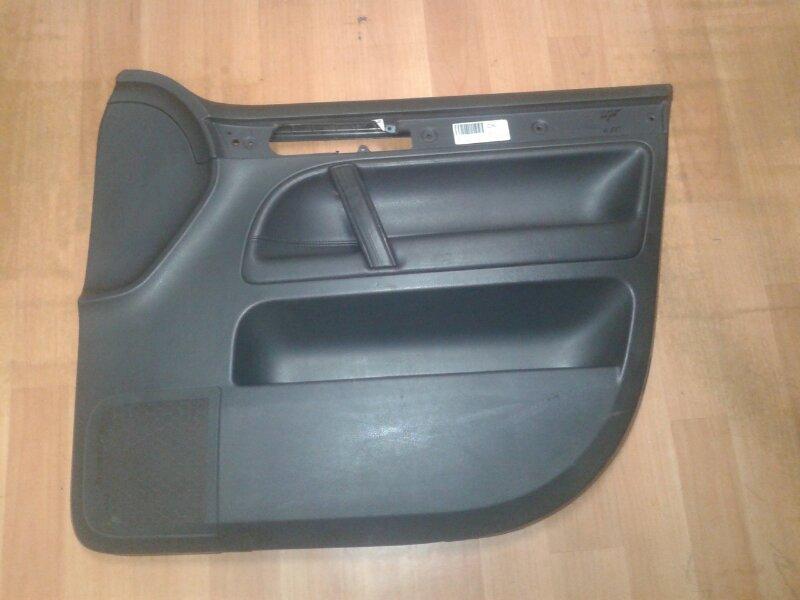 Обшивка двери Volkswagen Touareg 7LA AXQ 2005 передняя правая