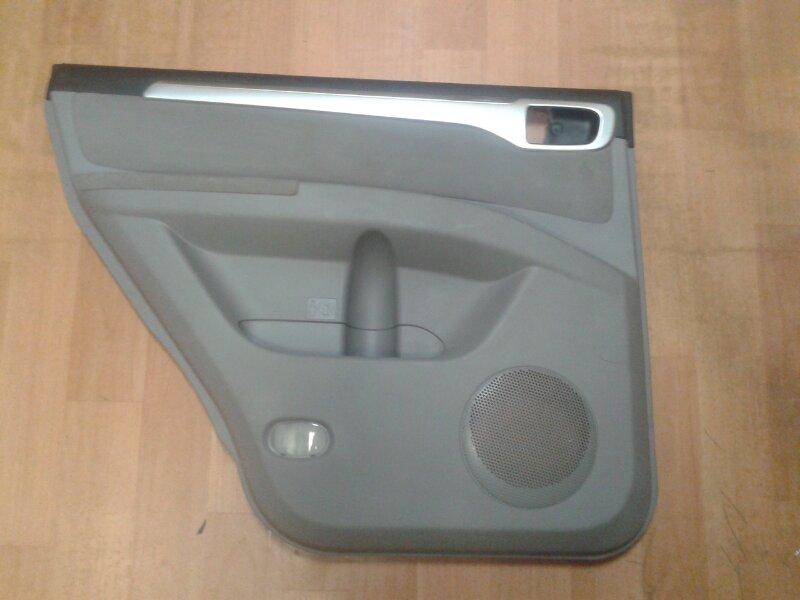 Обшивка двери Mitsubishi Pajero Sport KH4W 4D56 2011 задняя левая
