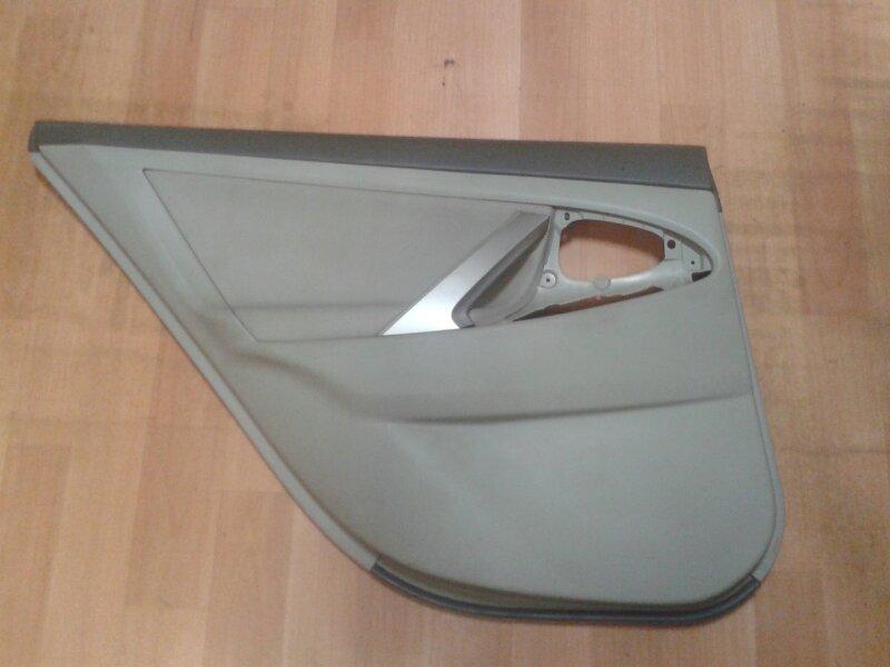 Обшивка двери Toyota Camry ACV40 2AZ-FE 2007 задняя левая