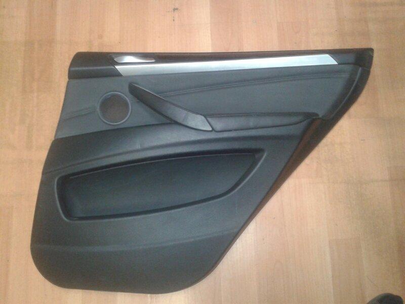 Обшивка двери Bmw X5 E70 M57TU2D30 2008 задняя правая