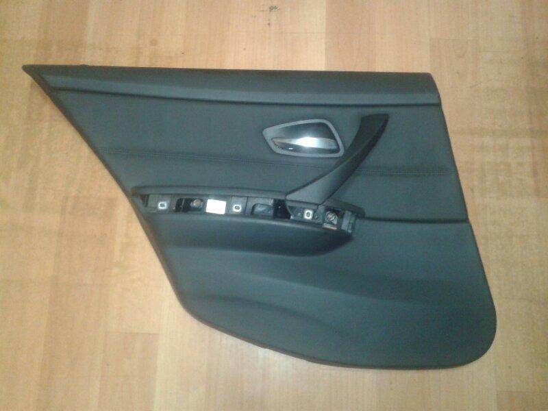 Обшивка двери Bmw 3-Series E90 N52B25 2006 задняя левая