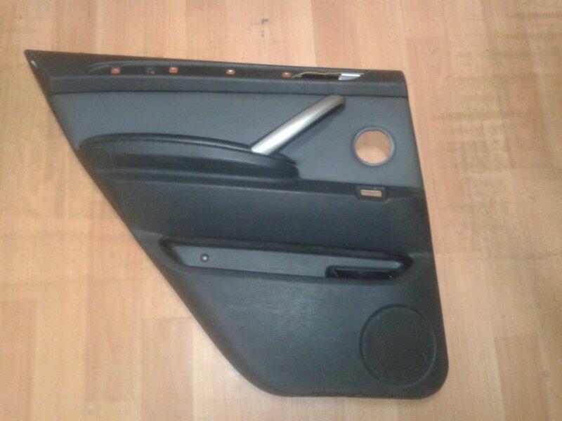 Обшивка двери Bmw X5 E53 M62B44TU 2001 задняя левая
