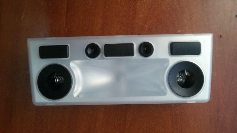 Плафон салона Bmw 5-Series E60 N52B25A 2007 передний