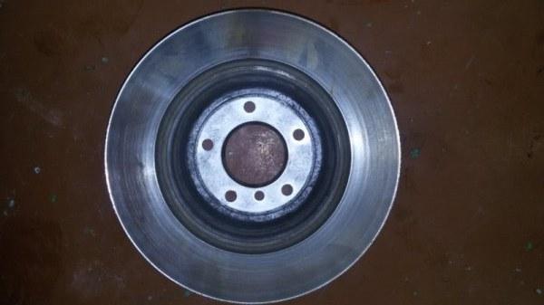 Диск тормозной Bmw 5-Series E60 N52B25A 2007 задний