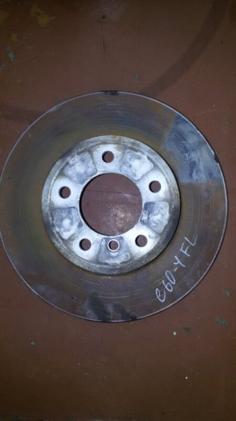 Диск тормозной Bmw 5-Series E60 N52B25A 2007 передний