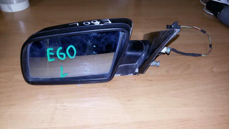 Зеркало заднего вида боковое Bmw 5-Series E60 N52B25A 2006 переднее левое