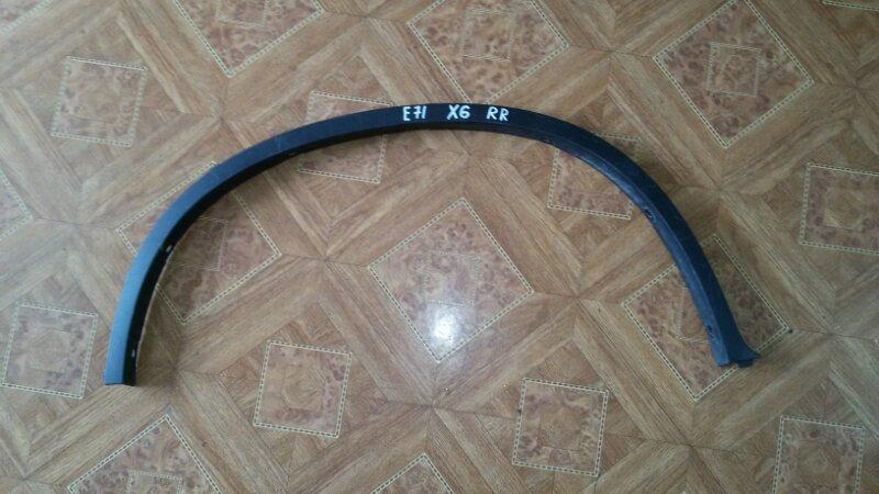 Накладка на крыло Bmw X6 E71 задняя правая