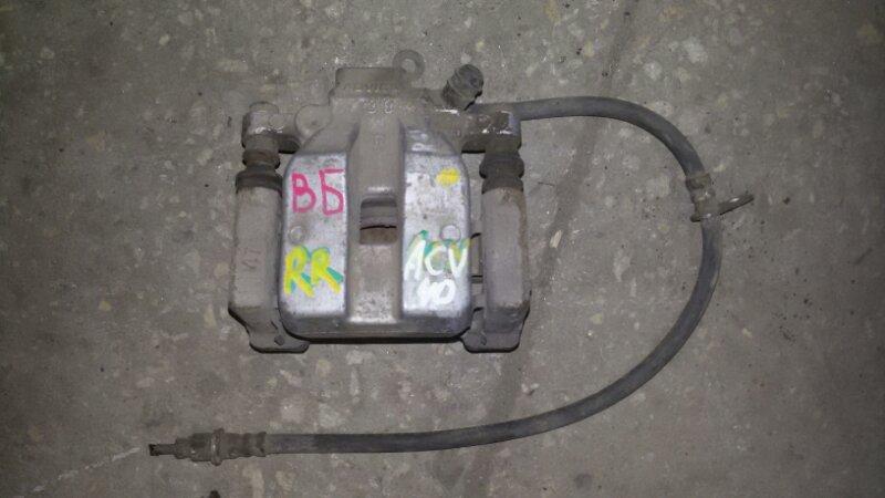 Суппорт тормозной Toyota Camry ACV40 2AZ-FE 2007 задний правый