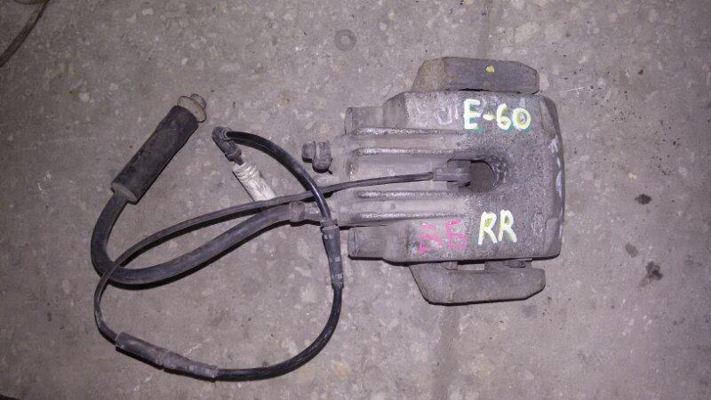 Суппорт тормозной Bmw 5-Series E60 N52B25A 2006 задний правый