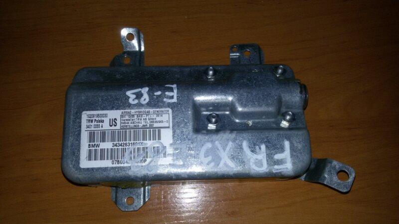 Подушка безопасности Bmw X3 E83 N52B30 2007 передняя правая