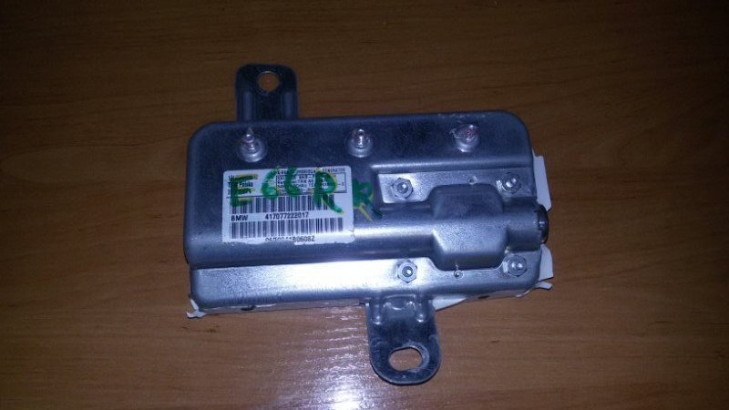 Подушка безопасности Bmw 7-Series E66 N62B40A 2006 задняя правая