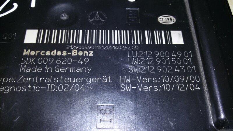 Реле Mercedes-Benz E-Class W212 M271.860 2012