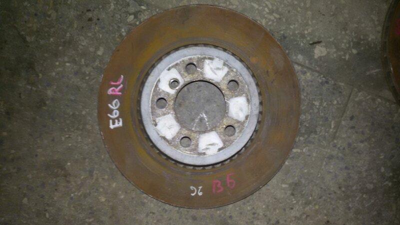 Диск тормозной Bmw 7-Series E65 N62B44A 2003 задний