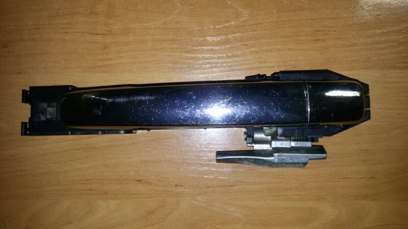 Ручка двери внешняя Nissan Almera G15 K4M, 1,6 2014 задняя правая
