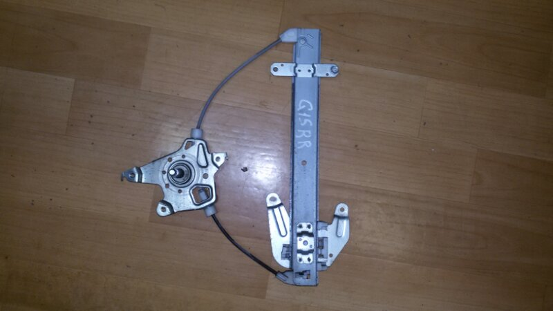 Стеклоподъёмный механизм Nissan Almera G15 K4M, 1,6 2014 задний правый