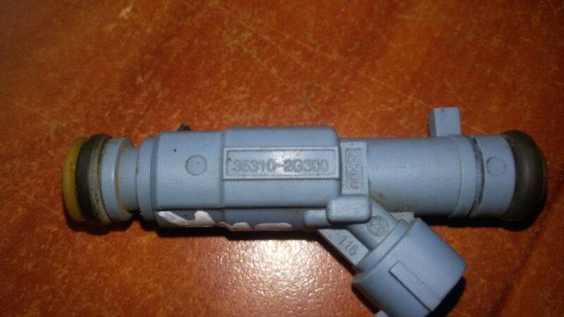Инжектор, форсунка Hyundai Santa Fe CM G4KE, 2.4L 2010
