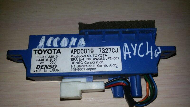 Ионизатор Toyota Camry ACV40 2AZ-FE 2007