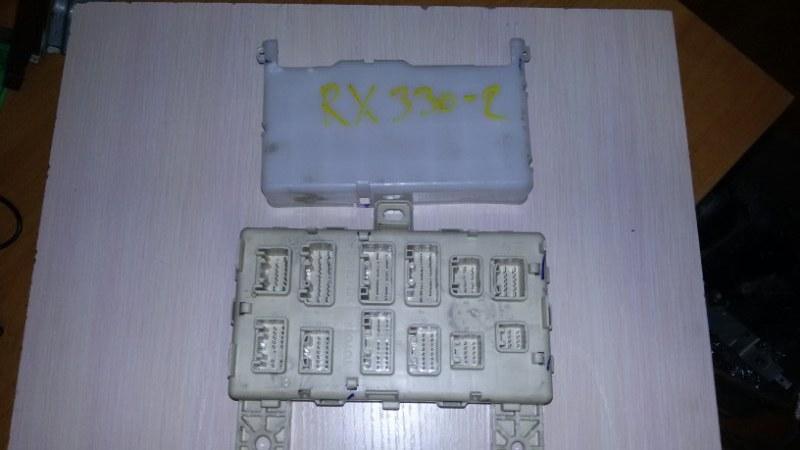 Блок предохранителей, реле салона Lexus Rx330 MCU38 3MZ 2005