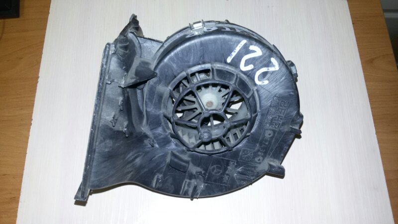 Мотор печки Mercedes-Benz S-Class W221 M273.961 2008 задний