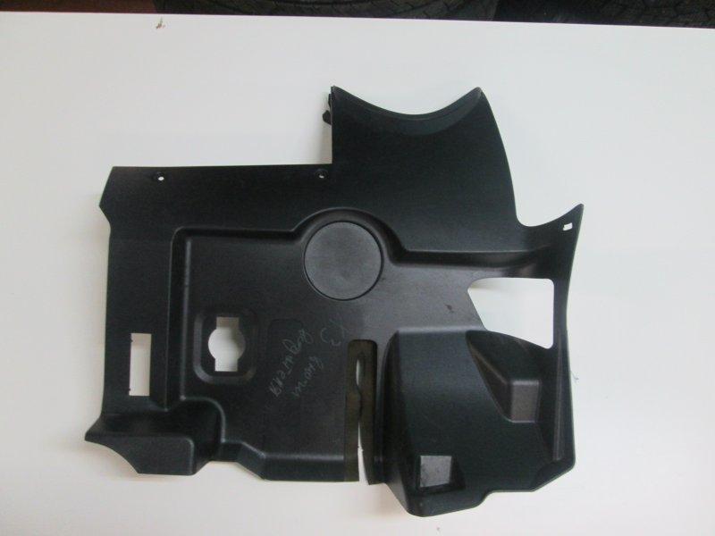 Накладка на консоль Bmw X3 E83 N52B30 2007 передняя левая нижняя