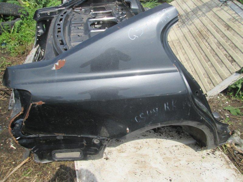 Крыло Lexus Gs450H GWS191 2GRFSE 2008 заднее правое