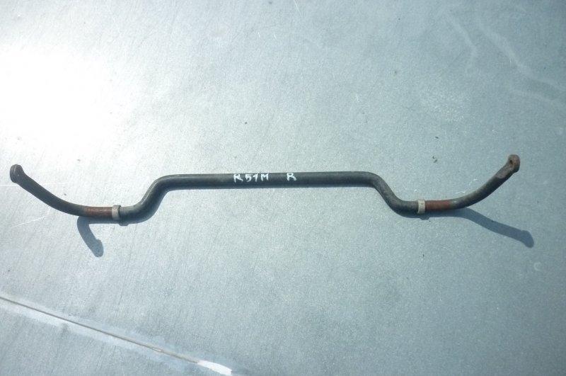 Стабилизатор поперечной устойчивости Nissan Pathfinder R51M YD25 2005 задний