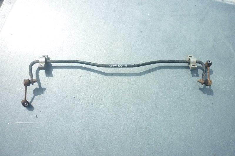 Стабилизатор поперечной устойчивости Lexus Gs450H GWS191 2GRFSE 2008 задний