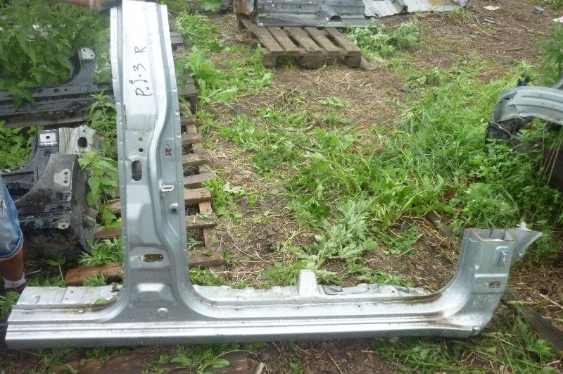 Стойка кузова Mitsubishi Pajero Sport KH4W 4D56 2012 правая