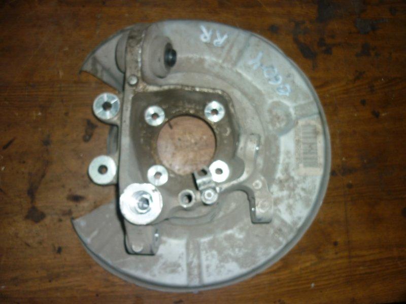 Поворотный кулак Bmw 5-Series E60 N52B25A 2007 задний правый