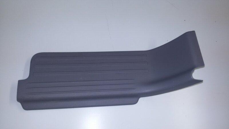 Накладка на порог дверная Mitsubishi Pajero Sport KH4W 4D56 2011 задняя левая