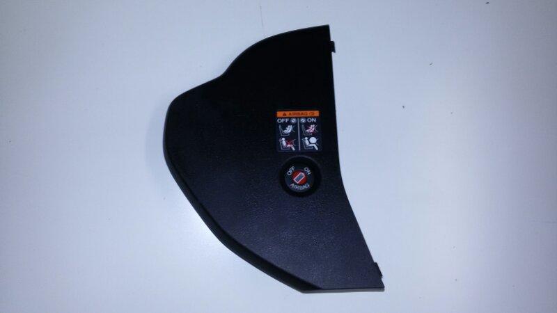 Накладка панели приборов Honda Accord CU2 K24Z3 2011 передняя правая