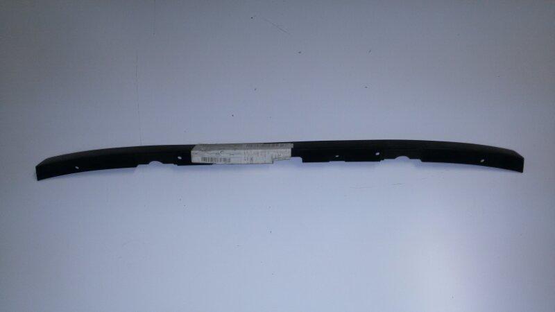 Накладка на бампер Skoda Superb 3U4 AYM, AWT, AVF, AWX, AMX, AZM 2006 передняя нижняя