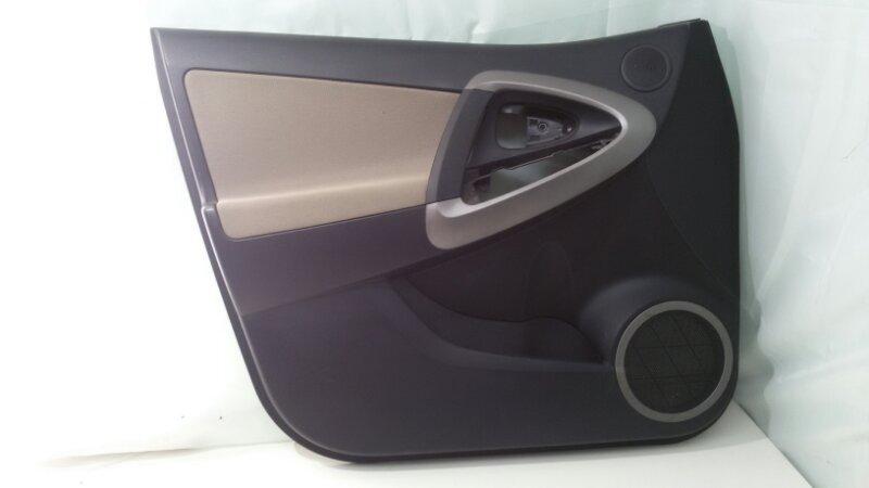Обшивка двери Toyota Rav4 ACA30 1AZ-FE 2007 передняя левая