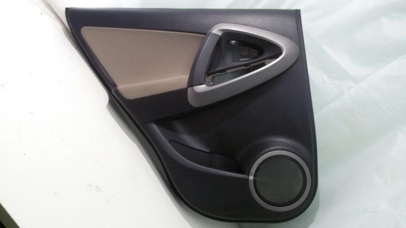 Обшивка двери Toyota Rav4 ACA30 1AZ-FE 2007 задняя левая